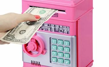 Highttoy Children ATM Electronic Coin Money Safe for Kids-Hot Gift