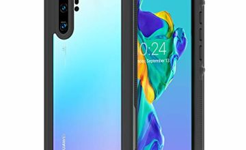 iThrough. Huawei P30 Pro Waterproof Case, Shockproof DropProof Full Body Protection Cover Built In Screen Protector, IP68 Certificated Waterproof Protective Case Cover for Huawei P30 Pro