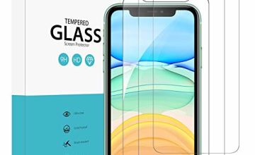Syncwire Tempered Glass Compatible with iPhone 11, [Pack of 3] iPhone XR Bubble-Free SyncProof HD Tempered Glass 9H Hardness Anti Bubble Screen Protector Film for iPhone 11 iPhone XR
