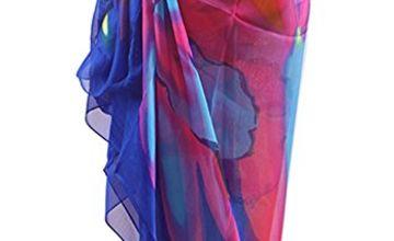 DiaryLook Large Sarong Beach Cover Up Wrap Beachwear Skirt Dress for Women