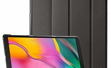 EasyAcc Case for Samsung Galaxy Tab A 10.1 2019 T510/ T515 - Ultra Thin with Stand Function Slim PU Leather Smart Case Fits Samsung Galaxy Tab A T510/ T515 10.1 Inch 2019