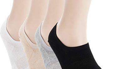 Pro Mountain No Show Thick Cotton Low Cut Liner Men Unisex Sneaker Trainer Socks
