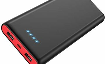 Yacikos Power Bank 25800mAh, Portable Charger [2019 Newest Unique Design] High Capacity External Battery Pack with 4 LED Lights Ultra Compact Quick Charge Power Banks for Smartphone, Tablet and More