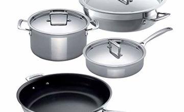 55% off Le Creuset 3Ply pan set
