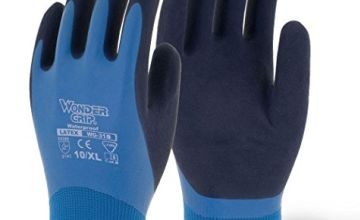 Wonder Grip WG-318 Aqua Waterproof gloves, Blue/Black, S/7