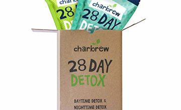 Charbrew Night Time Teatox 28 Days Weight Loss Tea (NO Laxative Effect)