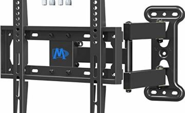 Mounting Dream TV Wall Bracket Mount Swivel and Tilt for Most LED, LCD, OLED Flat Screen TVs 26-55 Inch