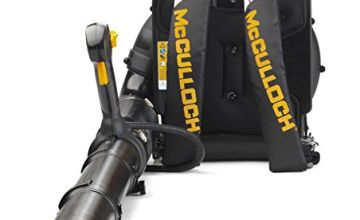 Great Prices on Mcculloch Petrol Backpack Leaf Blower, 46 cc