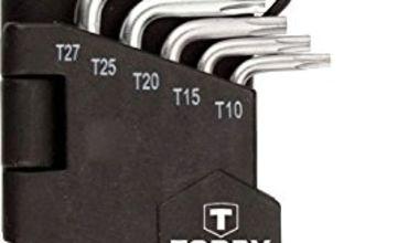 TOPEX 35D960 Torx-Key Set 9 pcs, T10-T50, CV