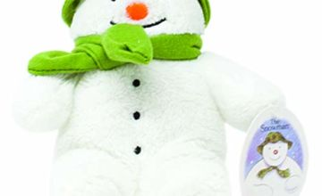 Save on Rainbow Designs Snowman Bean Toy for Newborn 15cm  (White) and more