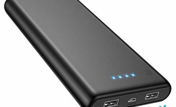 Trswyop Power Bank, Portable Charger 25800mAh Ultra High Capacity External Battery Dual Output Port Ultra Compact Quick Charge Power Banks for Smart Phones Tablets and More