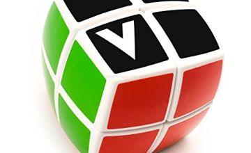 Magic Dice-Like Cube 2x2, V-Cube 2b White - Original Verdes Innovations