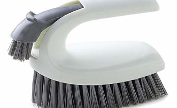 Cleaning Brush,2 in 1 Combination Scrub Brush-Suitable for Scrubbing Brushes in Bathroom Kitchen Carpet Floor