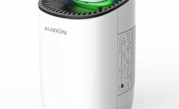 AUZKIN Dehumidifier 600ml Portable Damp Air Dehumidifiers Auto-Off Air Purifier Removing Damp and Mold for Home, Kitchen, Garage, Wardrobe, Basement