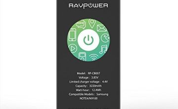 Galaxy Note 4 Battery RAVPower 3220mAh Li-ion Replacement Battery for Samsung Note 4 N910, N910U 4G LTE, N910V(Verizon), N910T(T-Mobile), N910A(at&T), N910P(Sprint)