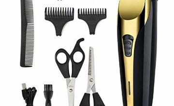 YAGU Hair Clippers Rechargeable Cordless Clipper Hair Trimmer Beard Shaver Electric Haircut Kit for Men