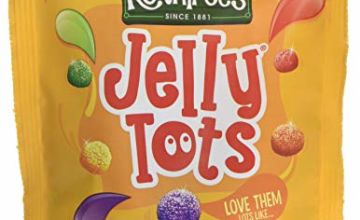 Rowntrees Jelly Tots Sweets Sharing Pouch, 150 g - Pack of 10
