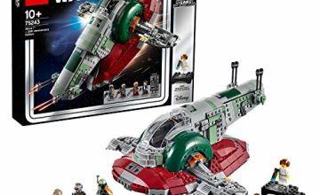 LEGO 75243 Star Wars Slave I - 20th Anniversary Edition, Boba Fett's Starship, Episode 5 The Empire Strikes Back, Multi-Colour