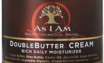 As I Am DoubleButter Cream Rich Daily Moisturizer, 227g/8 oz.