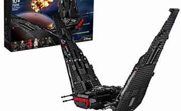 LEGO 75256 Star Wars Kylo Ren's Shuttle Starship Construction Set with 2 Spring Shooters, The Rise of Skywalker Collection