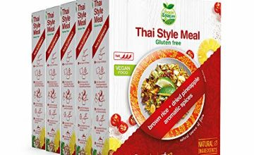 Veggie&Nature Gluten-Free Thai-Style Vegan Meal Mix (5 x 180 g)