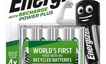 Save on Energizer Rechargeable Batteries AA, Double A Power Plus, 4 Pack and more
