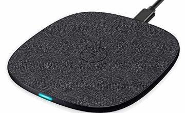 Qi Wireless Charging Pad-Evershop10W Fast Wireless Charger for Samsung S10 S9 Plus S8 S7 Note 8/Huawei Mate 20 Pro/P30 Pro/,7.5W for iPhone X XR 8 Plus and other Qi-enable Phones