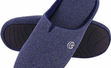 EverFoams Men's & Women's Comfort Cotton Knit Memory Foam Sl