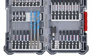 Bosch Professional Drill Bit Set, 35 Pieces (Pick and Click, Impact Driver Accessories with Bits and Universal Holder)