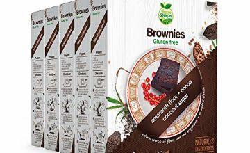Veggie&Nature Gluten-Free Brownie Mix (5 x 275 g)