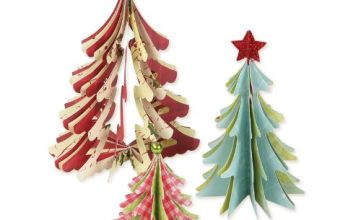 Sizzix Bigz Die Christmas Trees 3D by Brenda Walton, Mixed