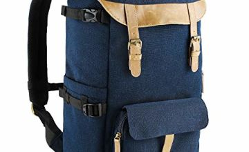 Camera Backpack Waterproof with Rain Cover