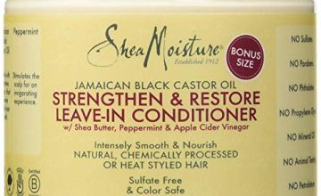 Save on Shea Moisture Jamaican Black Castor Oil Strengthen/Grow and Restore Leave in Conditioner 454gm or 16oz and more
