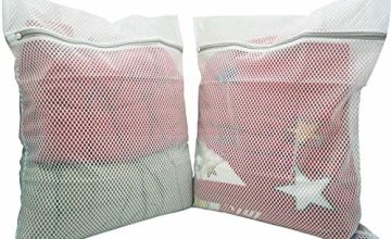PRETTYGAGA Extra Large Mesh Laundry Bag, Heavy Duty Pack of 2 (XL)