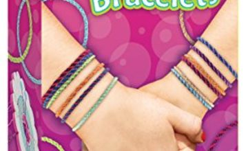 Creativity for Kids F901981 West Design Junior Selection Friendship Bracelets Mini Kit, Multi-Color