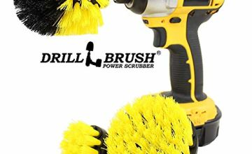 Drillbrush All Purpose Bathroom Surfaces Shower, Tub, And Tile Power Scrubber Brush Cleaning Kit
