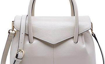 BOYATU Genuine Leather Shoulder Bag for Ladies,Luxury Handba