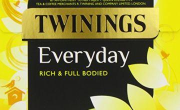 Twinings Everyday 200 Tea Bags (Pack of 3, total 600 Tea Bags)