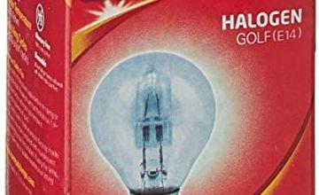 Eveready ECO Halogen Golf Light Bulb, E14, 30 W