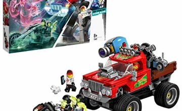 LEGO 70421 Hidden Side El Fuego's Stunt Truck Toy, AR Games App, Interactive Augmented Reality Ghost Playset for iPhone/Android