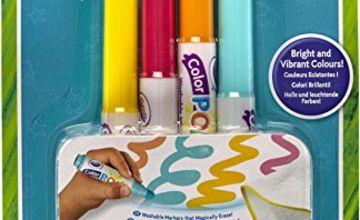 Crayola Mini Kids Colour Pop–81-2007-E-0004x Marker Refill –Water Washable Colouring
