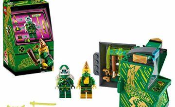 LEGO 71716 NINJAGO Lloyd Avatar - Arcade Pod Portable Playset, Collectible Prime Empire Ninja Toys for Kids