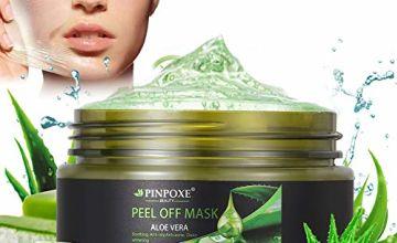 Peel Off Mask, Blackhead Remove Masks, Blackhead Mask, Aloe Vera Face Mask, Acne Killer Deep Cleansing Blackhead Crystal Mask, 100g