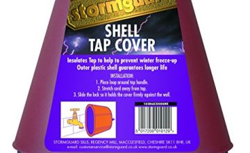 STORMGUARD OUTSIDE TAP COVER BRICK RED 18SR682