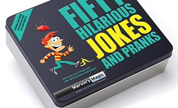 Marvin's Magic MMT129 50 Hilarious Jokes and Pranks Magic Set