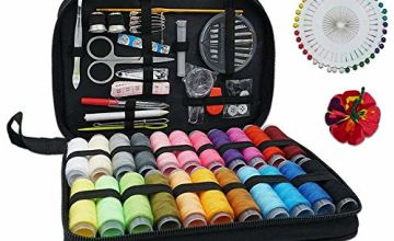 RFWIN Travel Sewing Kit Needle, Portable Mini Sewing Supplies for Beginner, Sewing Supplies