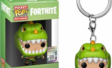 Funko 36971 Pocket POP Keychain: Fortnite: Rex, Multi