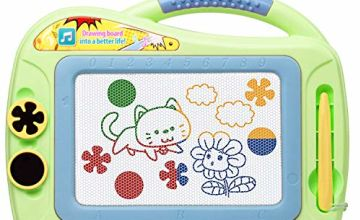 Magnetic Doodle Board for Girls,Xmas Gift for 3 Plus Years O