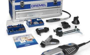 Dremel Platinum Edition 4000 Rotary Tool 175 W, Rotary Multi Tool Kit with 6 Attachments and 128 Accessories