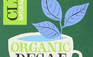 Clipper Organic Fairtrade Decaf Green 20 Tea Bags (Pack of 6, Total 120 Teabags)